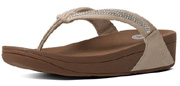 Crystal Swirl in Nude Suede by FitFlop